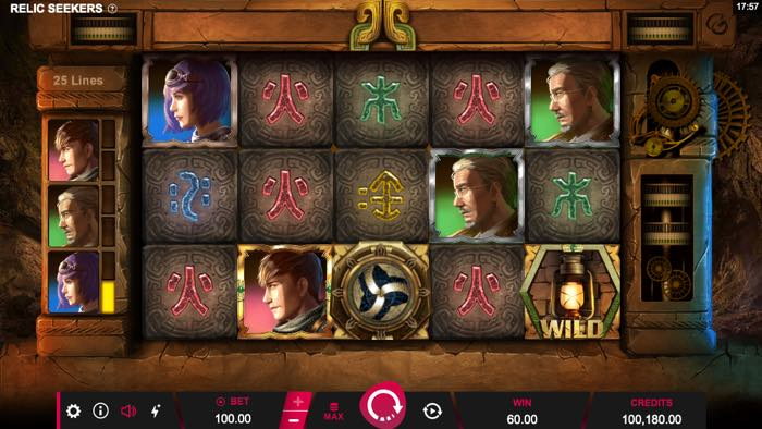 Relic Seekers Spilleautomat fra Microgaming