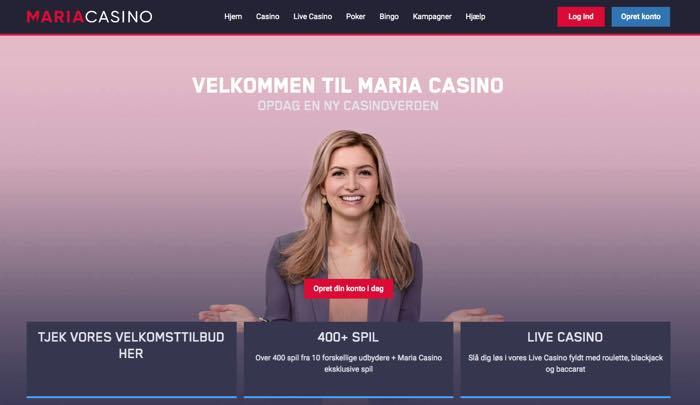 Velkommen til Maria Casino